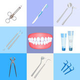 Dentist instrument Stock Photo