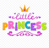 Cute  illustration for girls Royalty Free Stock Photos