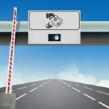 Illustration of Motorway exit. Cute illustration of motorway exit vector illustration