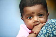 Cute Indian baby Royalty Free Stock Photography