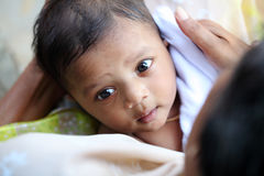 Cute Indian baby Stock Photography