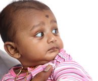 Cute Indian baby Royalty Free Stock Images