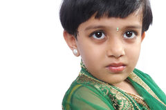 Cute Indian Girl Stock Photo