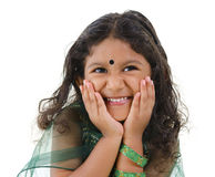 Cute Indian girl Royalty Free Stock Image