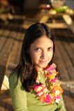 Cute indian girl smiling Royalty Free Stock Image