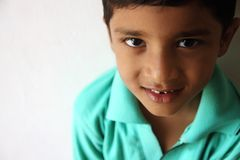 Cute Indian Little Boy Royalty Free Stock Image