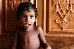 Cute Indian little boy Royalty Free Stock Photos