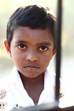 Cute Indian little boy Stock Photos