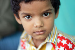 Cute Indian little boy Stock Images