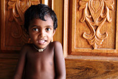 Cute Indian little boy Royalty Free Stock Photo