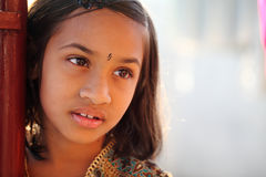 Cute Indian little girl Royalty Free Stock Image