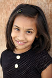 Cute Indian little girl Stock Photography