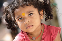 Cute Indian little girl Royalty Free Stock Photo