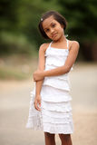 Cute Indian little girl Stock Photos