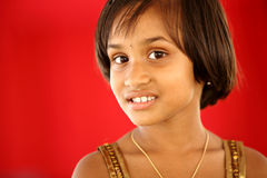 Cute Indian little girl Royalty Free Stock Photos