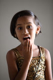 Cute Indian little girl Royalty Free Stock Images
