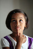 Cute Indian little girl Stock Photo