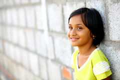Cute Indian little girl Royalty Free Stock Photography