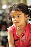 Cute Indian little girl portrait Royalty Free Stock Photo