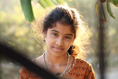 Cute Indian teen girl Stock Image
