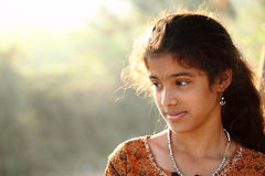 Cute Indian teen girl Royalty Free Stock Photos