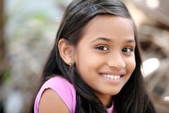 Cute Indian teen girl Royalty Free Stock Photography