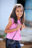 Cute Indian teen girl Stock Photography