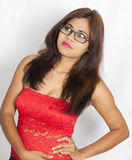Cute indian teenager Stock Images