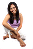 Cute Indian Woman Stock Image