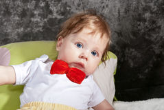 Cute Infant stock images