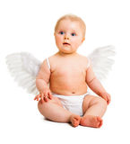 Cute infant angel Royalty Free Stock Photo