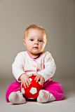 Cute infant girl Royalty Free Stock Photos