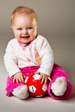 Cute infant girl Royalty Free Stock Photography