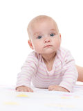 Cute infant girl Stock Photo