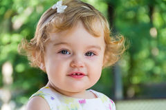 Cute infant Royalty Free Stock Images