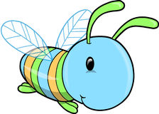 Cute Insect Vector Illustration stock illustration