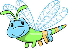 Cute Insect Vector Illustration Stock Images