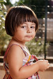 Cute italian kid lifestyle potrait Royalty Free Stock Photo
