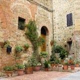 Cute italian street Stock Photo