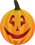 Cute Jack O Lantern. Illustration of a cute jack o lantern with internal light Royalty Free Stock Photos