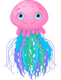Cute Jellyfish Royalty Free Stock Images