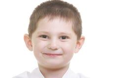 Cute karate kid Stock Photos