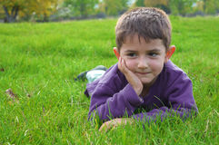 Cute kid Stock Image