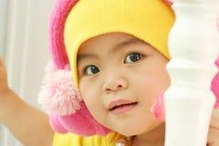 A cute kid of china royalty free stock image