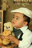 A cute kid of china Royalty Free Stock Image