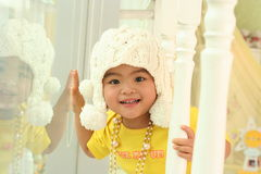 A cute kid of china stock images