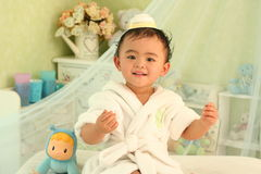 A cute kid of china stock photos