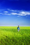 Cute kid outdoor Royalty Free Stock Photography