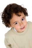 Cute kid portrait Stock Images