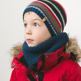 Cute kid in winter time Royalty Free Stock Photos